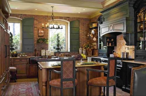 Кухня в стиле французский кантри