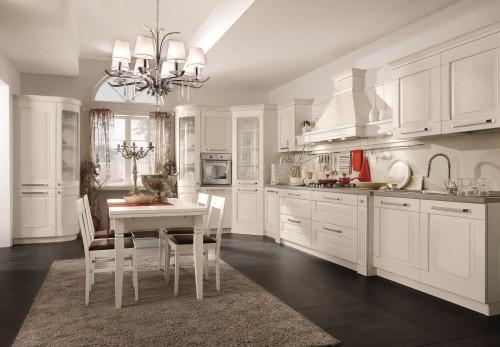 кухня в классическом стиле - итальянский стиль