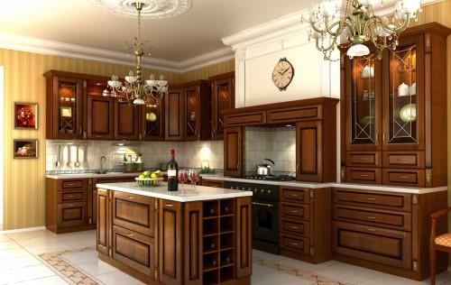 кухня в классическом стиле1