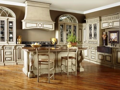 кухня в классическом стиле9