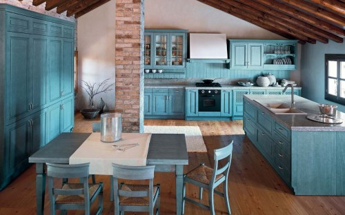 синяя кухня 5