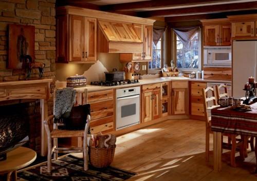 кухня в викторианском стиле