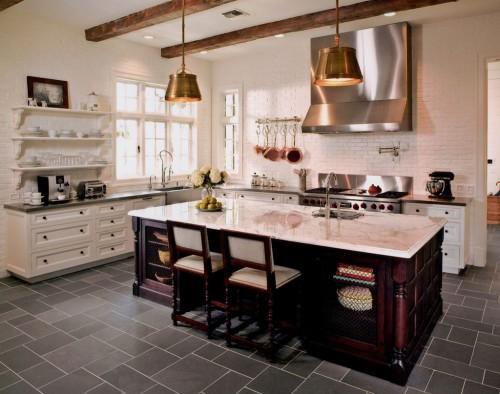 Кухня в стиле модерн Тюдор