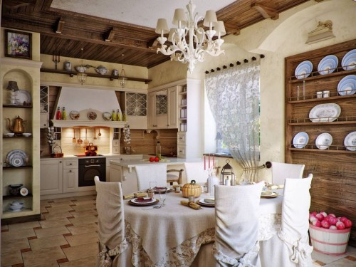 Русский стиль кухни