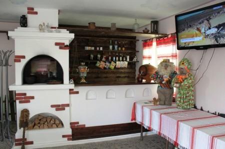 Дизайн кухни в Русском национальном стиле