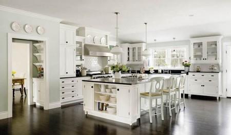 Выбор цвета для оформления кухни