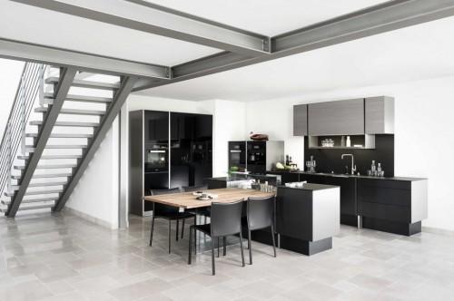 кухня алюминиевый индастриал