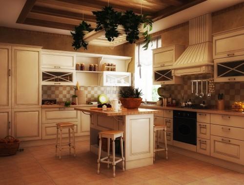 кухня старый свет