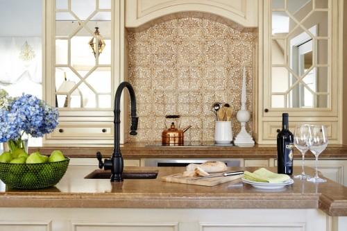 Марокканский стиль кухни остров