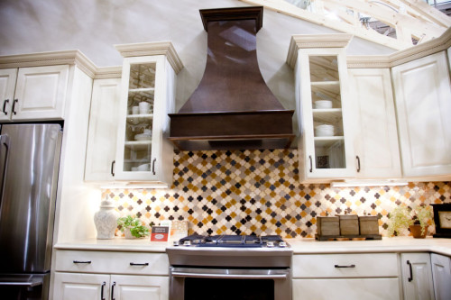 Марокканский стиль кухни плита