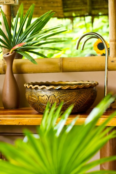 декор кухни в тропическом стиле