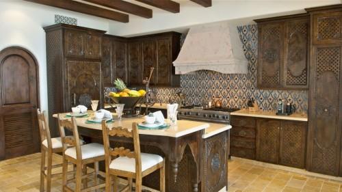 классический Марокканский стиль кухни