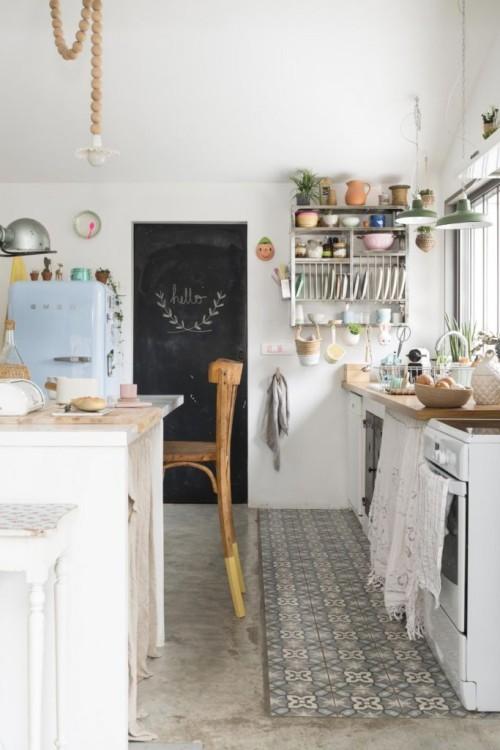 кухня в национальном скандинавском стиле