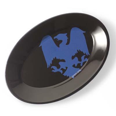 объединенный или федеральный стиль кухни тарелка с гербом