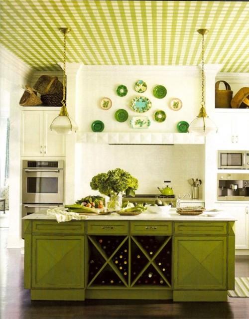 зеленая тропическая кухня