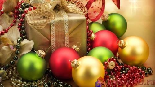 декорирование к новому году шарами
