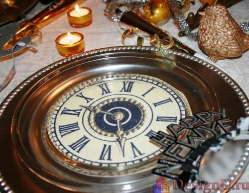 декорирование посуды к новому году