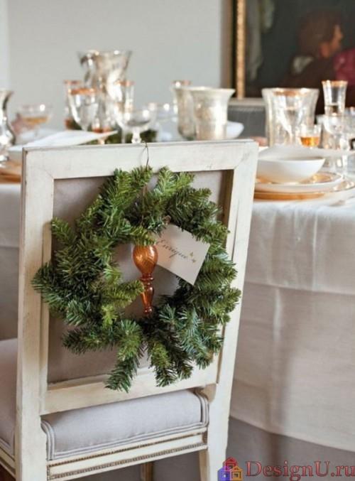 домашний интерьер на рождество и новый год