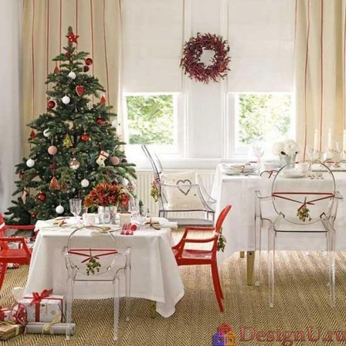 идеи декора на рождество