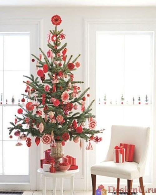 декор в рождественском стиле