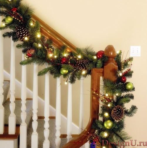 идеи новогоднего декора дома 2016