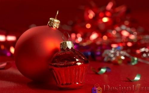 шары для новогодней елки