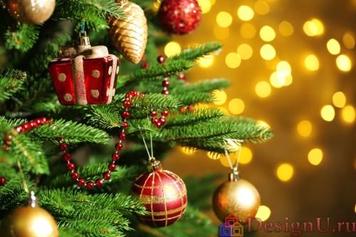украшение новогодней елки игрушки