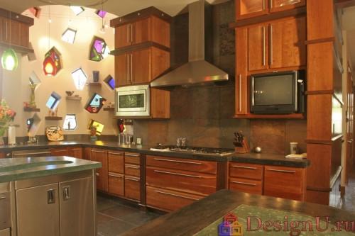модерн эклектика на кухне